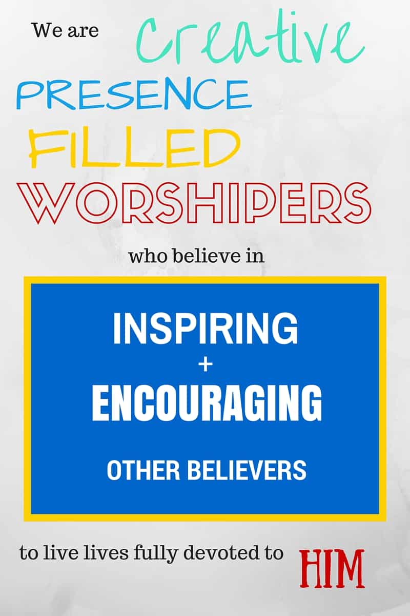 When you learn the truth about who God says you are, all of this is possible - and more. We are creative, Presence filled worshipers who believe in inspiring and encouraging other believers to live lives fully devoted to Him.