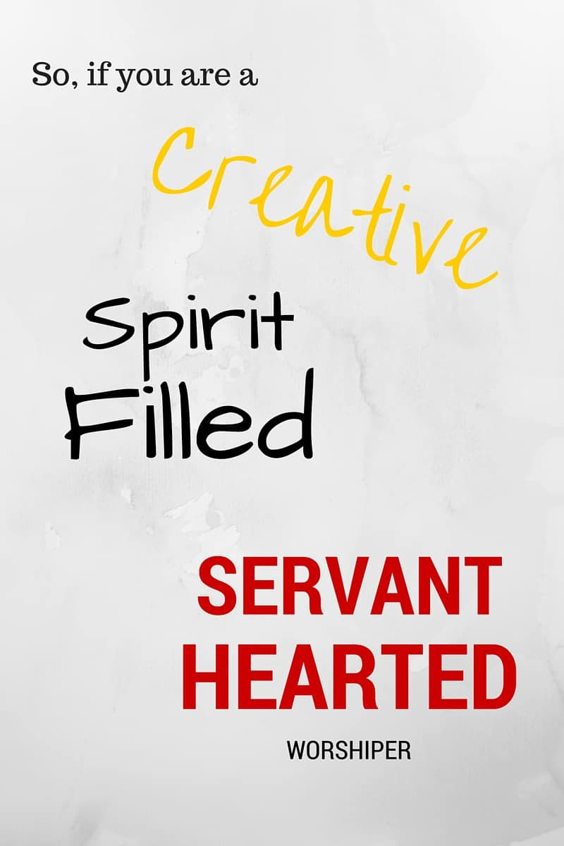 So, if you are a creative, Spirit-filled, servant-hearted worshiper and you sometimes struggle with lack of time, lack of knowledge or feel pressured to strive for perfection, you are in the right place. We know how these things can make you feel inadequate, unworthy, frustrated and useless.
